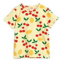 【Mini Rodini】Cherry lemonade aop ss tee