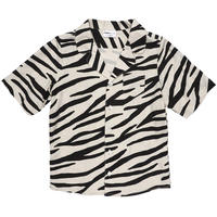 【made of mini】SMILING ZEBRA/BLOUSE