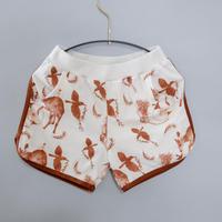 【michirico】Flora and fauna short pants (サイズS、M)