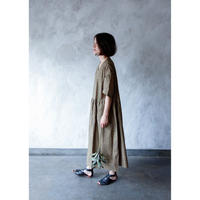 【michirico】 honabi pattern gown OP  womens(サイズF)