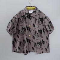 【michirico】 Flora and fauna shirt(サイズL、XL、XXL)