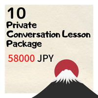 10 Private Conversation Lesson Package