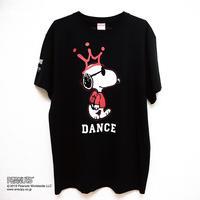 ダンススヌーピーTシャツ