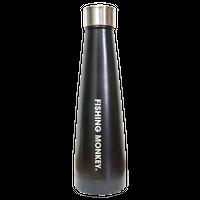 フィッシングステンレスボトル450ml ブラック フィッシングモンキー/FISHING MONKEY