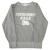 ヴィンテージトレーナー GRAY フィッシングモンキー/FISHING MONKEY