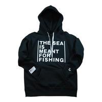 マキシムフーディー BLACK フィッシングモンキー/FISHING MONKEY