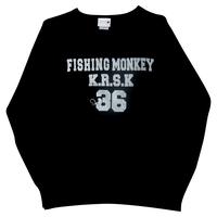 ヴィンテージトレーナー NAVY フィッシングモンキー/FISHING MONKEY