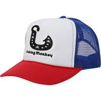フィッシュフックメッシュキャップ TRICOLOR フィッシングモンキー/FISHING MONKEY