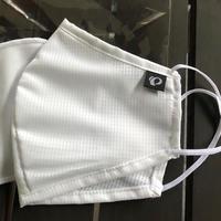 PEARL IZUMI 夏用メッシュ生地マスク  ホワイト