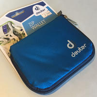 deuter  ZIP WALLET【BLUE】