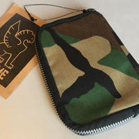 CHROME ZIP WALLET【CAMO】