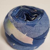(浴衣)淡い青色のグラデーション(5066)
