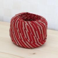 赤と薄茶色の縞模様2m(608)