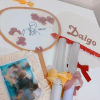 【Staff Chikako Produce】キモノヤーンの推し活セット