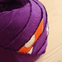 【10m】紫の訪問着・縮緬10m(10176)