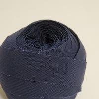 深い紺色の絽(10115)