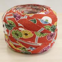 赤土色に花柄2m(2008002)