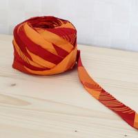 赤と橙の縞模様2m(579)