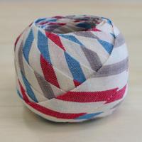 白・青・赤・灰色の縞模様2m(2010018)