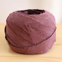 【10m】似紫色の無地・紬10m(10056)