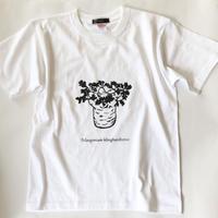 クリンガルドテンセ プリントTシャツ ホワイト*oneno*
