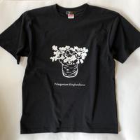 クリンガルドテンセ プリントTシャツ ブラック*oneno*