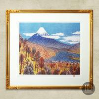 山下清「日本平の富士」