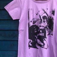 花屋のTシャツ パープル