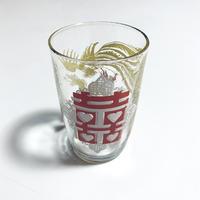 グラス ハートダブルハピネス龍鳳 o-107