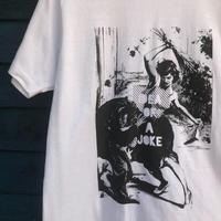 花屋のTシャツ 白