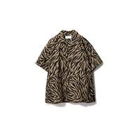 SANDINISTA-Zebra Shirt【 KHAKI】