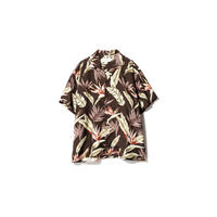 SANDINISTA-Aloha Shirt【BROWN】