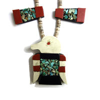 Sant Domingo Turquoise Coral Necklace