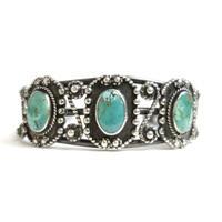 Three Turquoise Lasso Bracelet