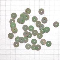 スパンコール ラウンド 6mm(FSCA273 オ  ーロラグレーグリーン)【0.3g】
