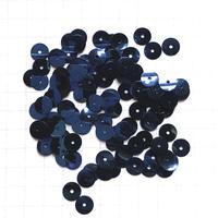 スパンコール ラウンド 5mm(FSCA227  メタリックネイビーブルー)【0.5g】
