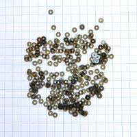 スパンコール ラウンド 3mm(FFS324 クリアカーキ)【0.5g】