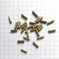 ヴィンテージフランス 竹(チューブ)ビーズパック(No.42 ゴールド)    【1.3g入り】