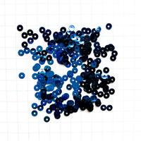 スパンコール ラウンド 3mm(FSCA166  メタリックネイビーブルー)【0.5g】