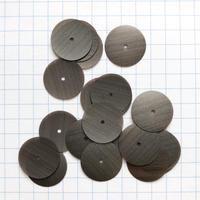 スパンコール ラウンド 14mm(FSCA111  グレー)【0.8g】