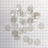 スパンコール 亀甲 10mm(FSCA179 クリアグレー)【0.8g】