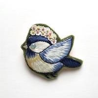 idola Original Kit 「ワッペンブローチ・幸せの青い鳥 / Type とぶ鳥」