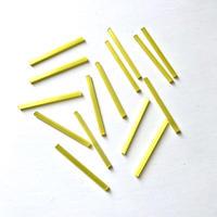 現代フランス 竹(チューブ)ビーズパック(No.2 イエロー)    【15本入り】