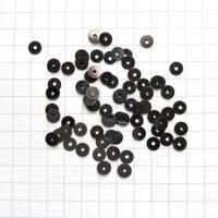 スパンコール ラウンド 4mm(FSCA347  ダークブロンズ)【0.3g】