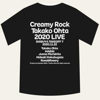 太田貴子ライブ2020.11.22限定記念Tシャツ(ブラック/サイズXL)