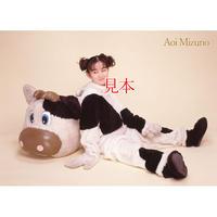 水野あおいソロサイン入りA4ポートレートNo.15(2/14バレンタインライブ公演記念)当日14:00販売終了
