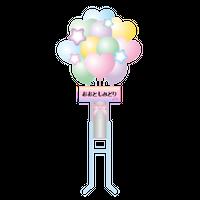 【発送なし】7/11(日)「Creamy moon オンライン」#1 Zoomのオンラインアフタートーク会参加権/番組応援「デジタルロビー花(フラワースタンドタイプ)」