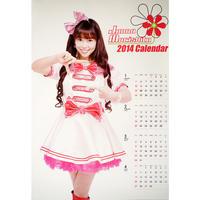 森下純菜2014カレンダー(1~4月)A2ポスター