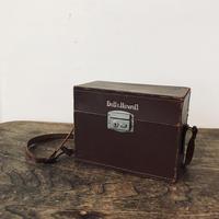【古道具87】ビンテージ 革カメラケース Bell&Howell