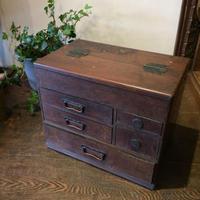 【古道具54 】アンティークな裁縫箱
